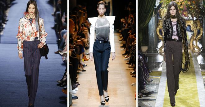 Классические брюки – какие бывают и с чем носить?