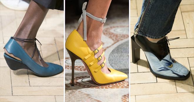 Женские кожаные туфли – самые модные летние и осенние модели