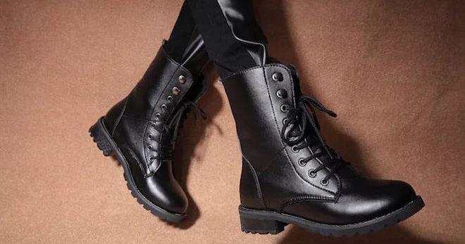 a4903e1b Ботинки на шнурках – с чем носить, чтобы выглядеть сногсшибательно?
