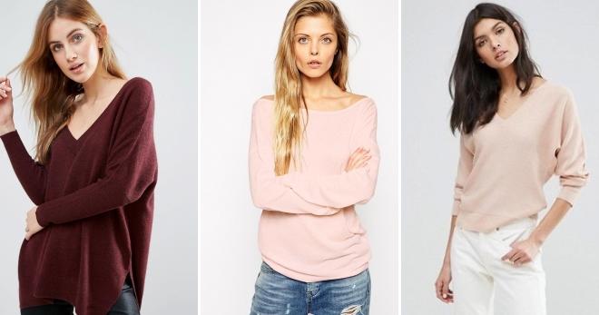 Кашемировый свитер – 40 модных образов со свитером из кашемира
