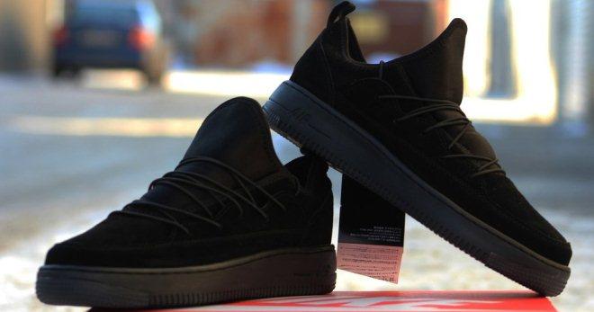 721773ea6 Стильные женские черные кроссовки – Найк, Адидас, Рибок, Пума ...