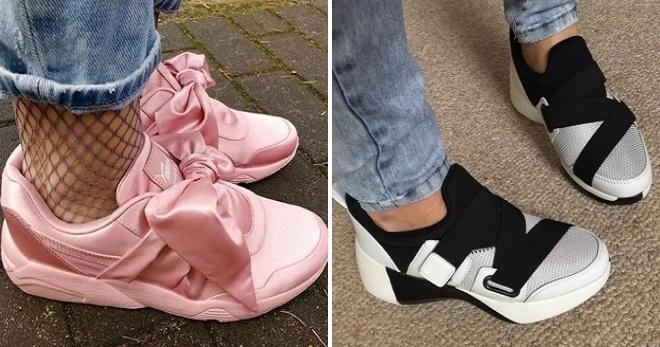 c048776c24ba Самые стильные женские кроссовки – на липучках, танкетке, без ...