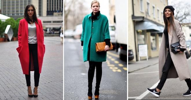 С чем носить пальто оверсайз – как составить модный образ?