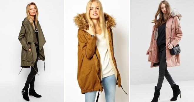 2deb2228f00 Куртка-парка – самые модные модели и с чем носить