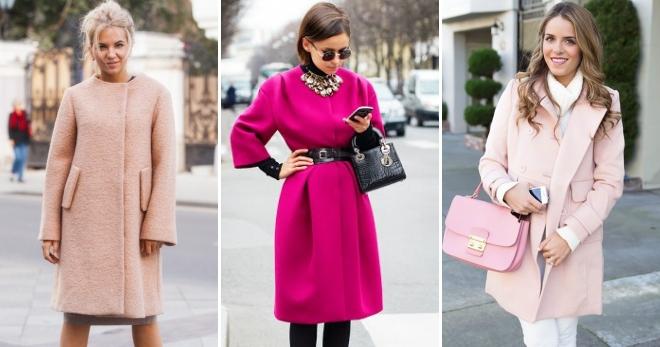 Розовое пальто – с чем носить и как создать модный образ?