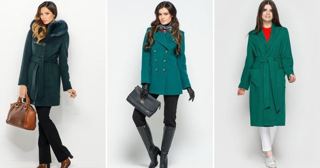 bab7c4ef9ed Зеленое пальто – с чем носить и как правильно создавать стильные луки
