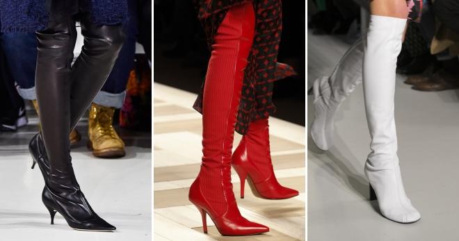 771513926513 Модные женские сапоги-чулки – ботфорты, стрейч, замшевые, бархатные ...