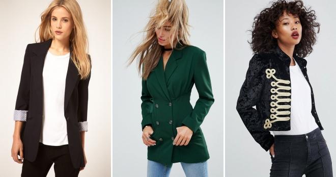 Женский пиджак – подборка фото модных образов на все случаи жизни
