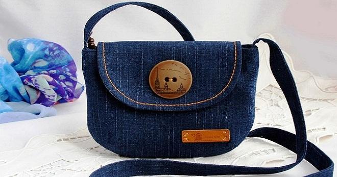 Джинсовая сумка – самые модные модели и с чем их носить?