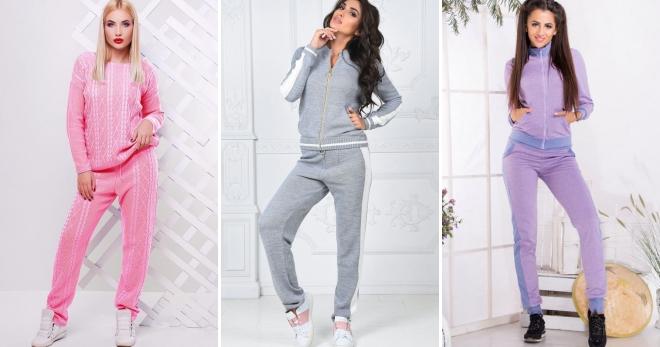 Женские зимние спортивные костюмы – самые стильные и теплые модели на любой  вкус c148c5af780