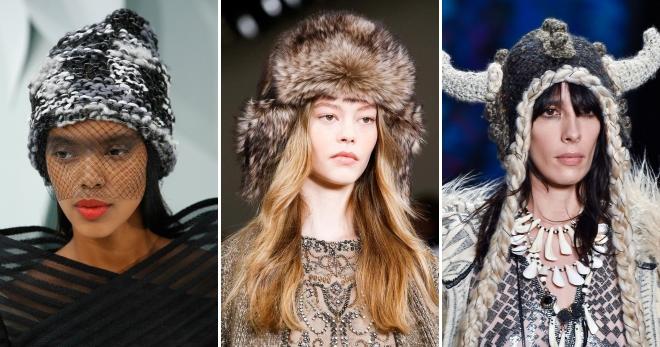 Виды вязаных шапок и их названия