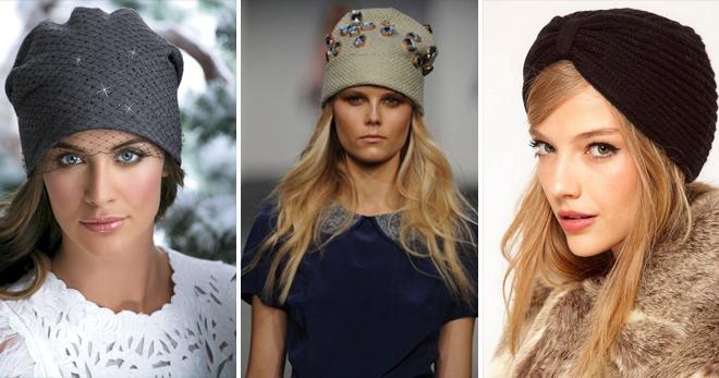 کلاه بافتنی برای زنان - 36 از مدل های شیک ترین برای هر vkus
