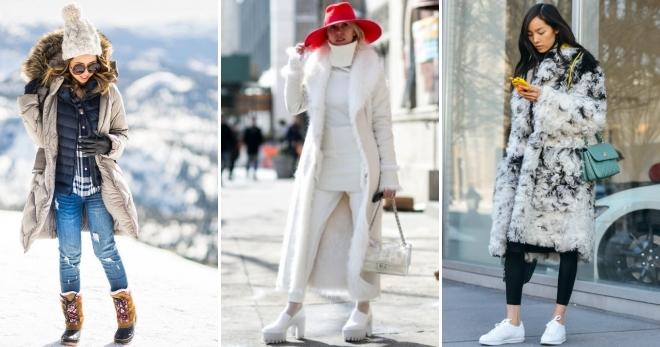 4b1d6a4a3d8 Зимний стиль для женщин – 40 самых модных образов нового сезона