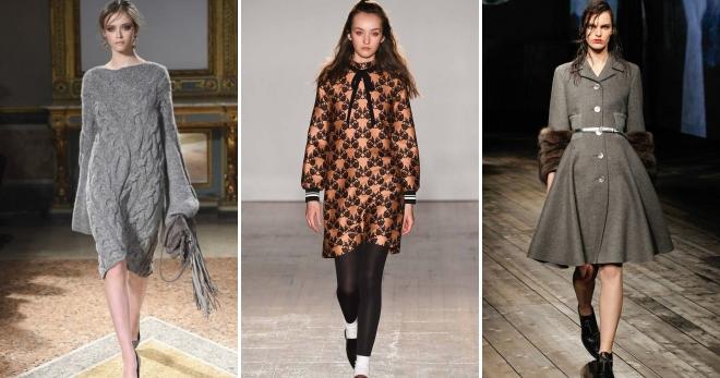 Модный трикотаж-2019: фото новинок, платья и блузы из трикотажа, модные в 2019 году