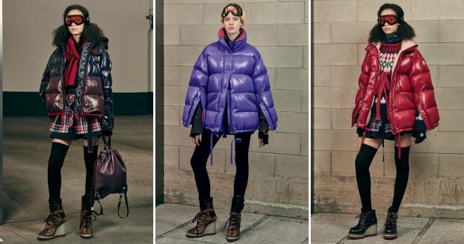 Пуховики Монклер – подборка фото самых стильных моделей этого сезона