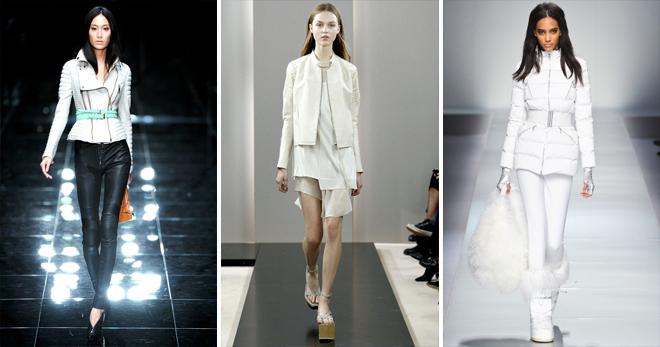 Белая куртка – с чем носить и как создавать модные образы?