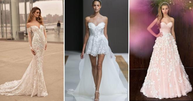 ef8340da5a9cfb9 Самые красивые свадебные платья 2018 – модные тенденции для зимы и ...