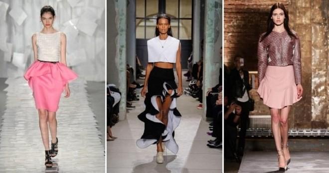Юбка с баской – с чем носить и как создавать модные образы?