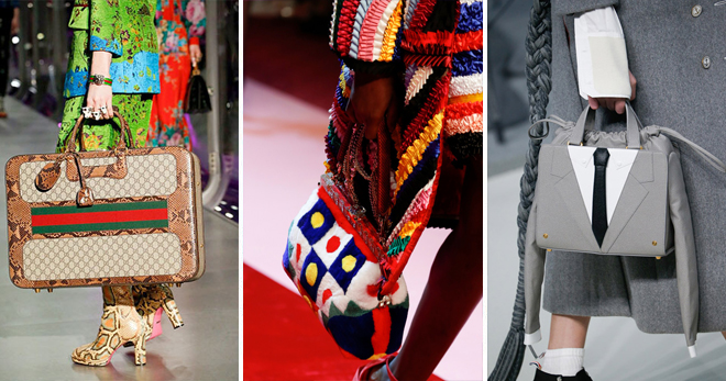 4d8b34b6f795 Самые модные сумки 2018 для женщин – какие формы и модели женских ...