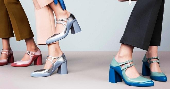 Какие каблуки в моде в 2018 году фото
