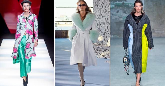 Стильные женские пальто весна 2018 – модные тенденции, тренды ... ce693845869