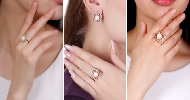 Кольцо с жемчугом – как выбрать и на каком пальце носят кольцо с натуральным жемчугом?