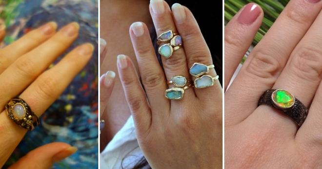 Кольцо с опалом – как выбрать кольцо с опалом в серебре, золоте?