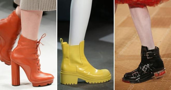 774114dd7 Модные ботинки весна 2018 – какие ботинки будут в моде весной 2018 года?