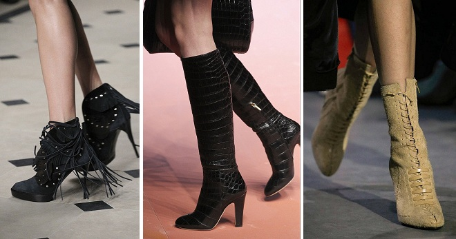 Сапоги 2019 – какие сапоги будут в моде весной 2018?