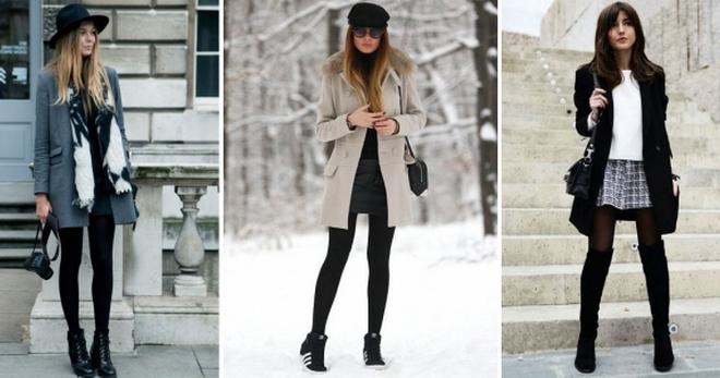 Теплые колготки – как выбрать и с чем носить теплые зимние колготки?