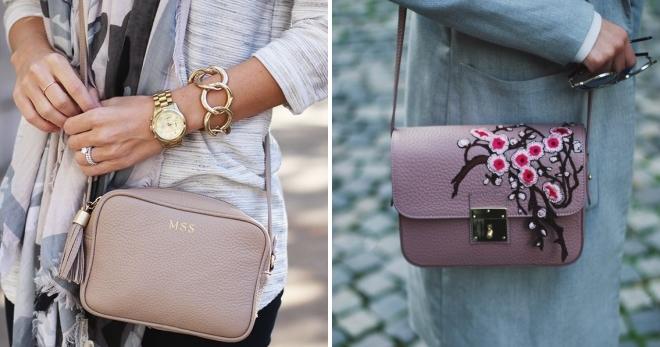 cbe1b612d4bf Модная женская сумка кросс-боди – брендовая, кожаная, из трикотажной ...