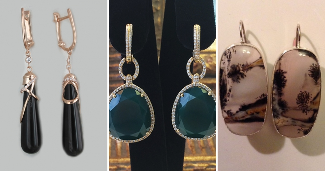Серьги с агатом – 40 фото красивых и оригинальных серег с натуральным камнем