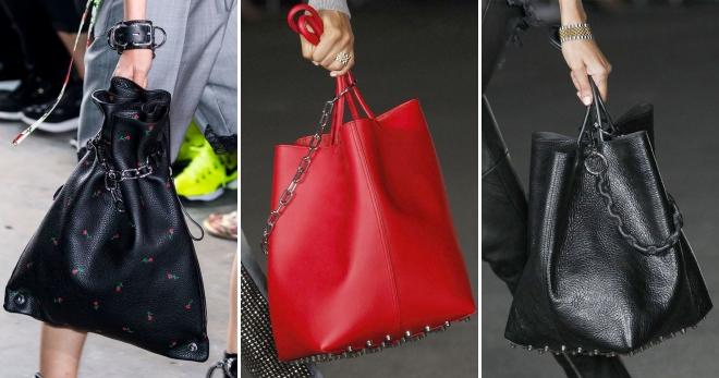 Модная сумка-мешок – кожаная, замшевая, вязаная, через плечо ... 31a38aa5b4b