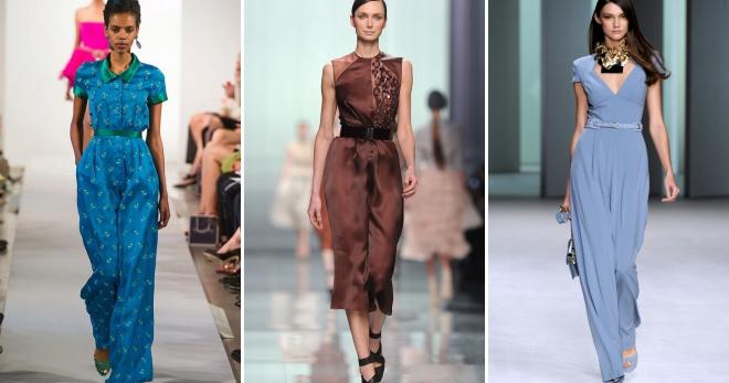 Платье-комбинезон – 30 фото самых стильных образов на любой вкус