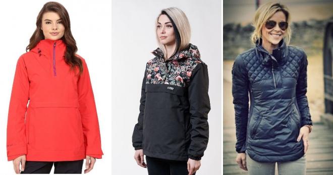 Куртка анорак – 36 фото стильных женских курток анорак на все случаи жизни