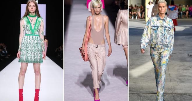 Тренды весна-лето 2018 – женская одежда, обувь, аксессуары, цвета, бьюти-тренды нового сезона