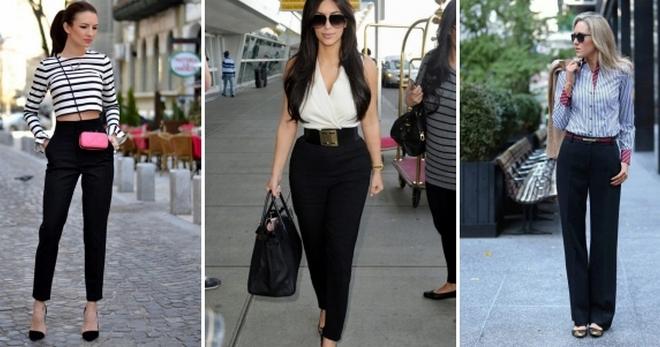 Женские классические брюки – 46 фото стильных образов на все случаи жизни 832d1457b384c