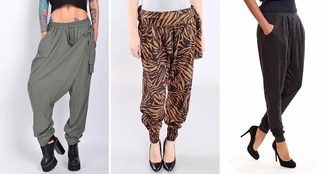 Штаны с мотней для девушек – откуда пошли, с чем носить и как создавать стильные образы?
