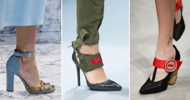 Модные женские туфли с ремешком – на каблуке, танкетке, платформе ... 417d2effba9