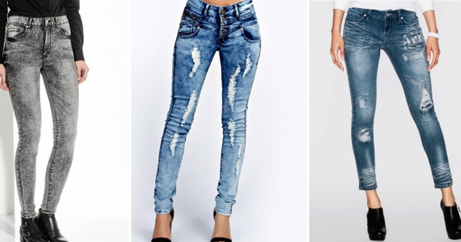 e85c829421e Стильные женские джинсы варенки – серые