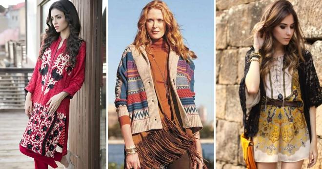 Style ethnique - les secrets de la création d'un arc à la mode dans un style ethnique