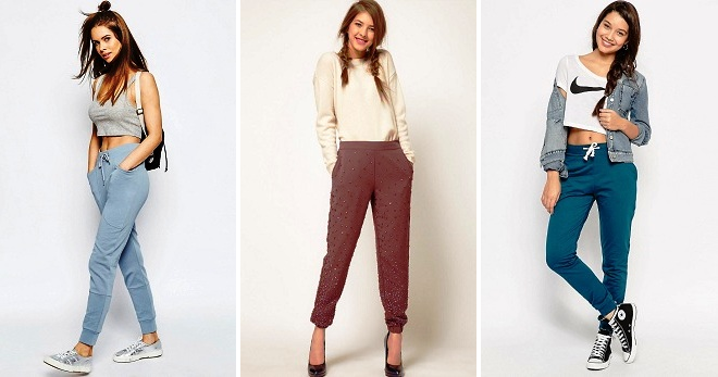 Женские джоггеры – 26 фото стильных образов в штанах-джоггерах на любой вкус