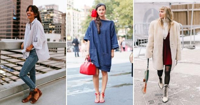 3143b47aae56 Стиль оверсайз в одежде для женщин – пуховик, пальто, кардиган ...