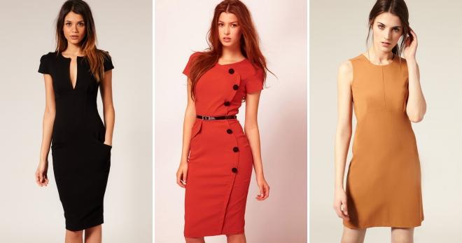 ad80ea06b02 Классические платья – 42 фото красивых моделей классических нарядов для  женщин