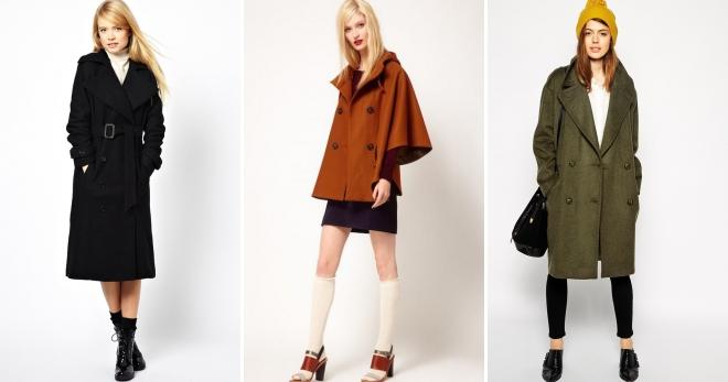 Виды пальто – какие бывают модели и фасоны женских пальто?