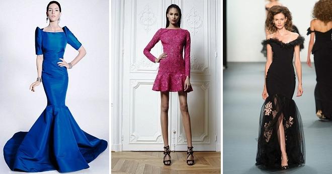 Платье-годе – 46 фото модных платьев на любой вкус