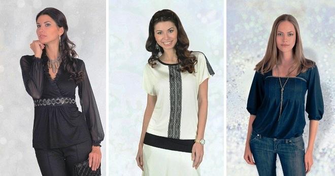 Фасоны блузок – лучшие нарядные и повседневные варианты