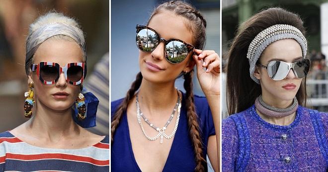 Lunettes de soleil pour femmes à la mode 2018 - tendances, montures, couleurs, forme des lunettes de soleil