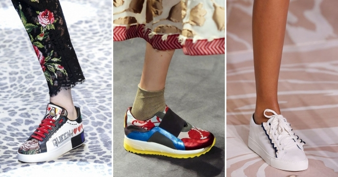 Модные кроссовки 2018 – самые модные модели нового сезона от известных брендов