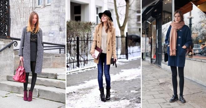 1426d0ec15d Прямое пальто – с чем носить и как создавать модные образы